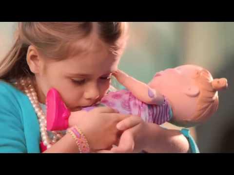 Boneca Baby Alive Machucadinho Loira Hasbro