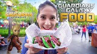 Guardians of The Galaxy Mission Breakout Foods!