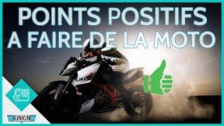 LES POINTS POSITIFS À FAIRE DE LA MOTO