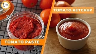 Homemade Tomato Ketchup and Tomato Paste Recipes By Food Fusion