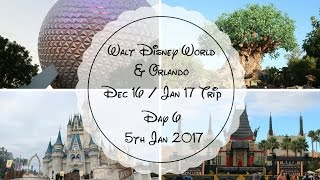 Walt Disney World & Orlando Dec / Jan 2017 Vlog - Day 6 - 5th Jan 2017