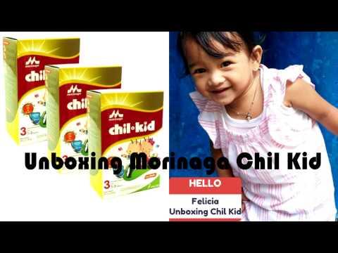 Unboxing Morinaga Chil Kid ❤ Felicia Unboxing Milk