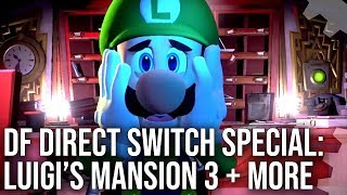 DF Direct Switch Special! Luigi's Mansion 3, Marvel Ultimate Alliance 3, Super Lucky's Tale + More!