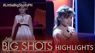 Angel sings Yesterday's Dream on Little Big Shots