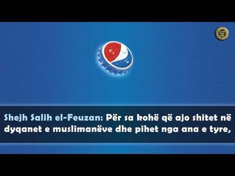 A lejohet të pihet Pepsi pasi dyshohet që ka substanca të Derrit? - Shejh Feuzan