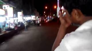 Night Street View in Dhaka City