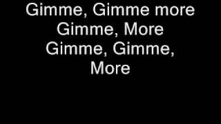 Britney Spears - Gimme More W/ Lyrics