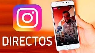 Vídeos en directo de Instagram, ¡novedades!