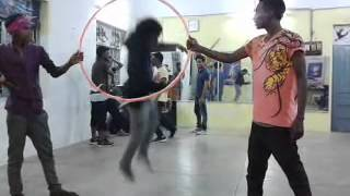 the Side flip trick an Ringwood stunt