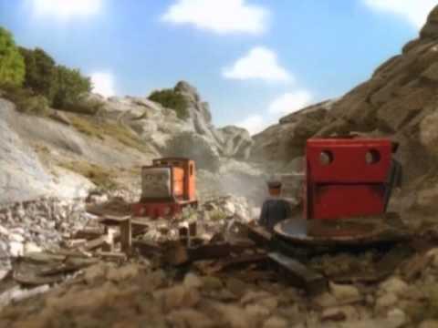 thomas y sus amigos rusty y la roca.