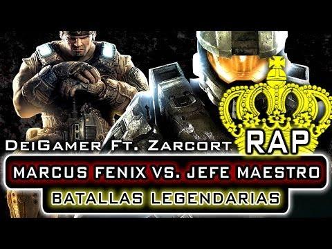 MARCUS FENIX VS. JEFE MAESTRO BATALLAS LEGENDARIAS RAP DeiGamer & Zarcort