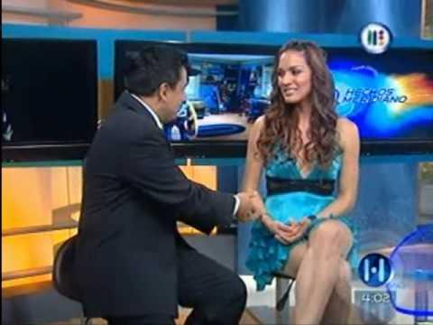 Entrevista de Laura Caro en Hechos Meridiano 03 06 2010 .