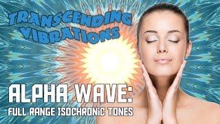 Alpha Wave: Full Range - Pure Isochronic Tones