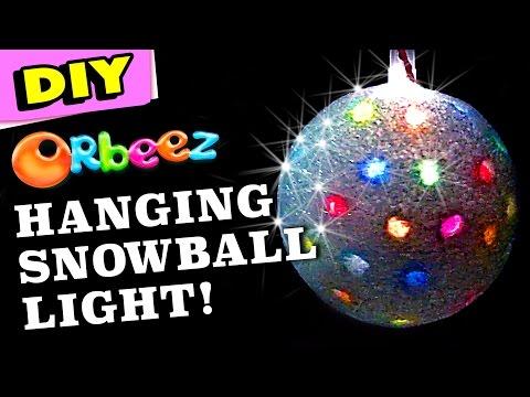 Orbeez Big Snowball Light DIY | Official Orbeez