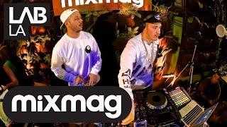 FLOSSTRADAMUS trap and hip hop DJ set in The Lab LA