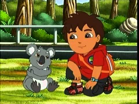go diego go abraço de coala