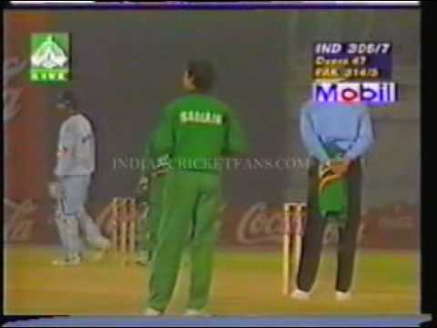 THE FINAL IND V.S PAK INDEPENDENCE CUP 98 8 9