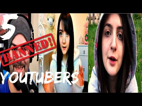 5 Banned YouTubers You Can't Watch Anymore