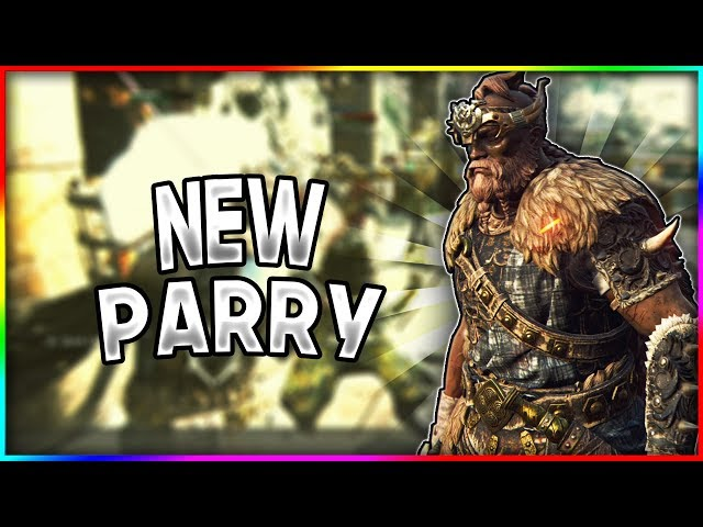 [For Honor] This New Parry Is AMAZING! - Highlander Gameplay
