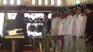 Pelantikan Kepala Desa Tahap 2 Oleh Bupati Klaten Sunarno