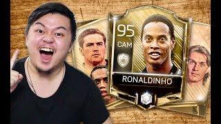 I GOT RONALDINHO!! ICON BUNDLE OPENING!! FIRST EVER ICON!! FIFA MOBILE S2