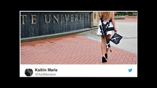 NEWS     Kent State grad set off with AR-10 rifle, firing up the debate