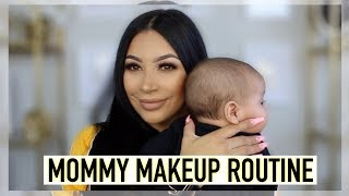GRWM: MY QUICK & SIMPLE MOMMY MAKEUP ROUTINE   EVETTEXO