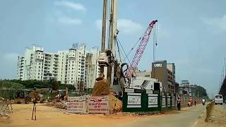 Electronic City to Silk Board Metro Work in Progress   Life in Bangalore