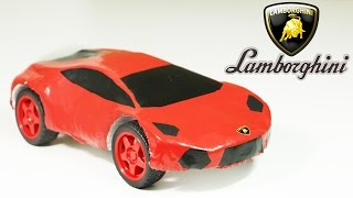 How To Make an Electric Lamborghini Car Out Of Polystyrene Foam