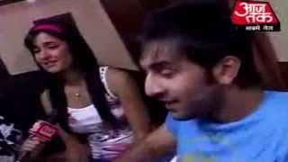 Ranbir and Katrina's unseen cute moments