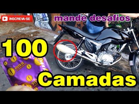 100 CAMADAS DE CAMISINHA NO ESCAPAMENTO DA FAN 150 MOTOKALEITE