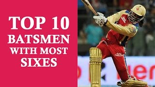 TOP 10 Batsmen with Most Sixes in Cricket history! Afridi, Gayle, Sachin Tendulkar, Kohli....