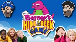 ITS TIME TO STAHP || Barney's Hide and Seek Game