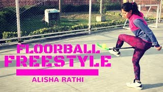 Best Floorball Freestyle Zorro  Female | Sangeeta Rathi | Alisha NFitness