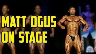 Matt Ogus On Stage - WNBF WA State Natural 2016 - Men's Open Lightweight Prejudging