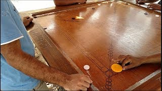 Playing Carrom Board | Most Funny Game | Caram Board Live Video | Saiful VS Mithu |