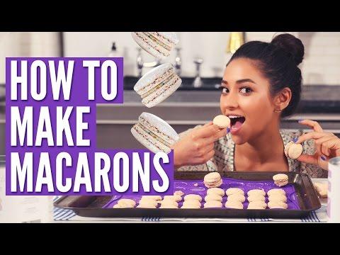How To Make Macarons w Dana's Bakery Shay's Kitchen