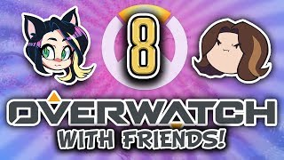 ► Overwatch w/ Egoraptor, Fey, GG Gab, Barry, & BlackDragon ► SUPPORTS ► PART 8 - Kitty Kat Gaming