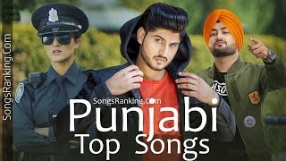 Punjabi Top Songs [21-30 June 2018] SongsRanking