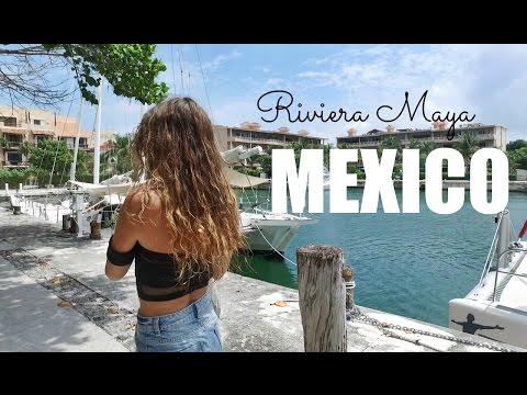 TRAVEL VLOG Riviera Maya Mexico
