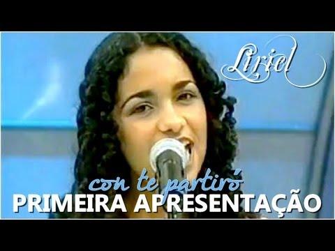 Liriel Domiciano Con Te Partiró Primeira Apresentação No Programa Raul Gil