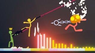 SOUND Wave BOSS DOMINATES! - HUGE NEW BOSS FIGHT UPDATE! - Stick Fight Gameplay