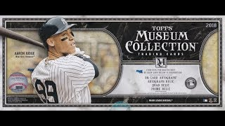 Box Busters: 2018 Topps Museum Collection Baseball