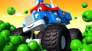 The SPRING Truck - Carl the Super Truck in Car City | Children Cartoons