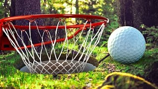 DUNKING IN THE FOREST! - GOLF WITH FRIENDS