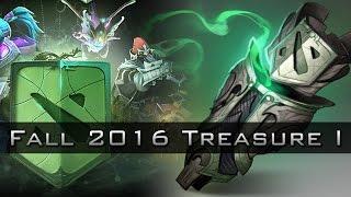 Dota 2 Fall 2016 Battle Pass & Treasure Opening