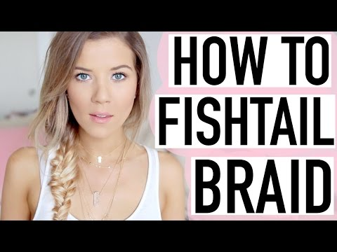 How to Fishtail Braid SUPER Easy Tutorial ♡