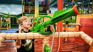 Indoor Playground Fun for Kids at Leo
