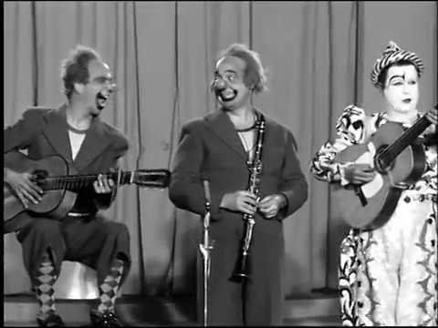 Les Rudi Llata Circus Clowns Télé Luxembourg 1957