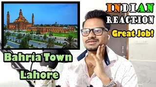 Indian people Reacts On Bahria Town Lahore | i am Impressed | Reacted By krishna